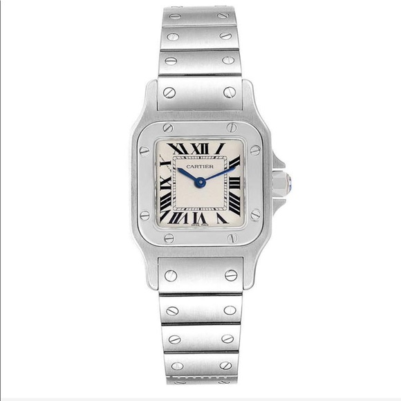 Cartier Accessories - Cartier stainless steal santos